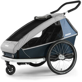Croozer Kid LE for 2 Remolques, stone grey